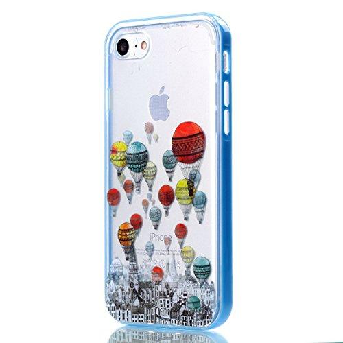 custodia case cover iphone 7 flessibil silicone trasparente sottile