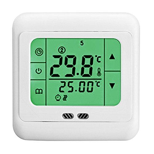 DASKOO C07.H3 7 Tage Programmierbare Heizung Thermostat mit LCD-Touchscreen Für Haus, Schule, Büro, Geschäftsviertel -