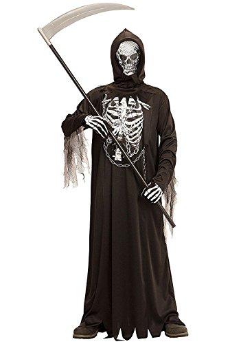hre - Kostüm - Verkleidung - Karneval - Halloween - Monster - Todesmäher - Schwarze Farbe - Kind (Billig Gruselige Halloween Kostüme)