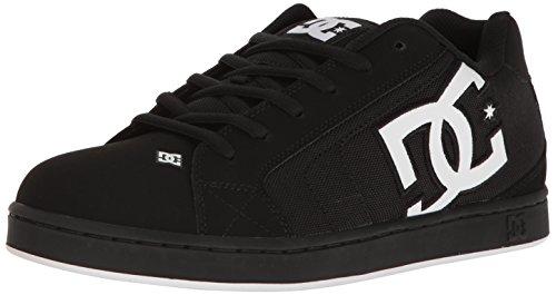 DC Shoes Men's Net SE Low Top Shoes Black White Black