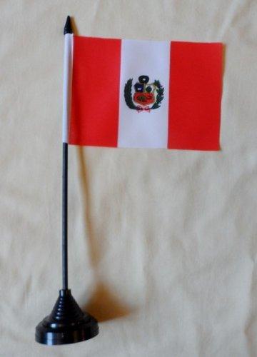Bureau Table Motif drapeau du Pérou