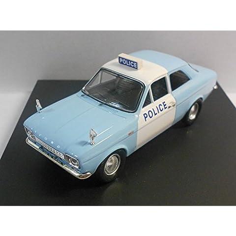 TROFEU 1/43 Scale Diecast Model - 523 FORD ESCORT MKI 1300 GT 'PANDA' POLICE CAR