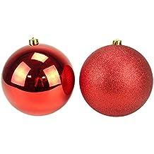 Palle Di Natale Grandi.Amazon It Palle Di Natale Grandi