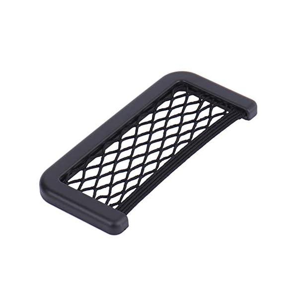 modello universale e elastico supporto per acqua//cellulare//giocattoli Organizer per auto con rete di protezione e tasca portaoggetti