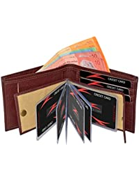 Accezory Brown Men's Wallet (ACBROALB)