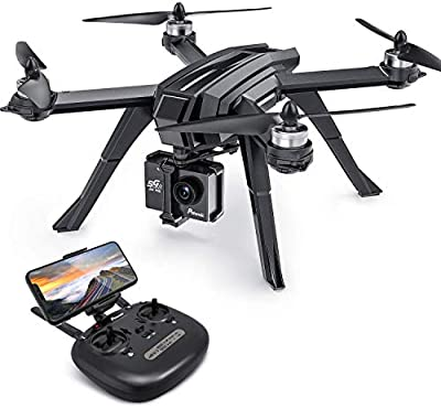 Potensic GPS Drone with 2K camera for adults, Auto Return Home with 1080P HD Camera 5G FPV Live Video, D85 RC Quadcopter for beginners, GPS Follow Me, Brushless, Altitude Hold, Sport Camera