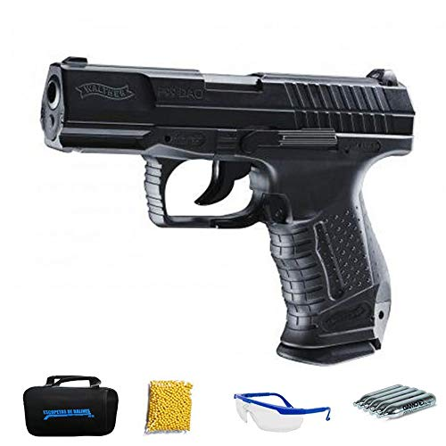 Walther P99 DAO M12 | Pistola de Airsoft Calibre 6mm (Arma Aire Suave de Bolas de plástico o PVC). Sistema: CO2
