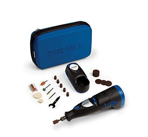 Dremel 7700-30 Akku-Multifunktionswerkzeug NiCad (7,2 Volt, 30 Zubehöre, Ladegerät, Softbag)