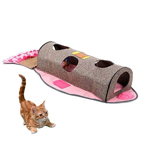 FXQIN Pet Snuffle Mat Hundefütterungsmatte Puppy Cat Nose Arbeitsdecke, Dogs Activity Fun Play Pad zum Stressabbau Restlessnes, Futtersuche Geschicklichkeit -