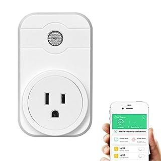 Smart Plug, AnGeer Smart Wi-Fi Plug Socket Sprachsteuerung von Amazon Alexa
