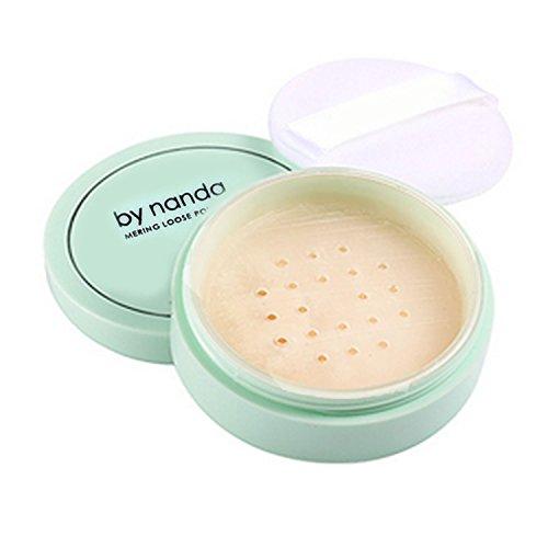 Imperméable à l'eau cosmétiques poudre libre teint poudre peau finition Contour cadre avec la houppette de finition