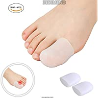pedimendtm 4Stück Silikon Gel Big Zehenschutzkappe für Hornhaut & eingewachsene Fußnägel Behandlung | hilft,... preisvergleich bei billige-tabletten.eu