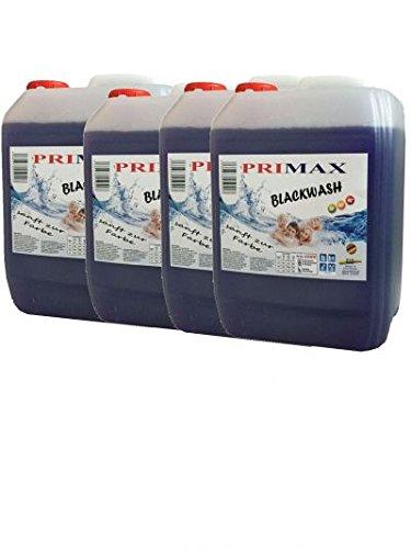 4 x 5 Ltr. Primax Blackwash - Schonend zu dunkler und schwarzer Wäsche