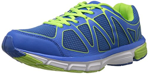 Columbus Men's I-Touch 2 Blue and Green Mesh Running Shoes - 9 UK (ITOUCH2BLUGRN009)