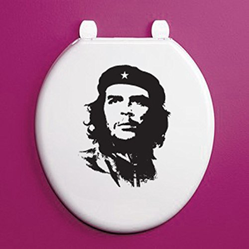 Price comparison product image CHE GUEVARA TOILET SEAT SILHOUETTE - Physician / Author / Diplomat Vinyl Sticker