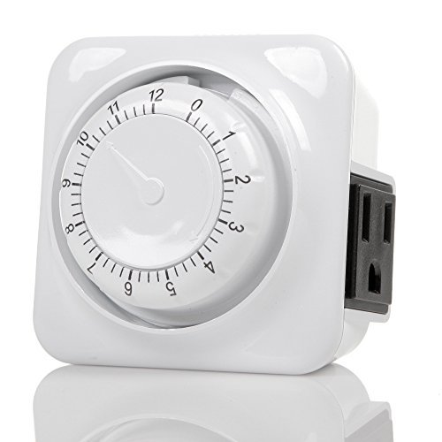 Century Mechanical Countdown Timer with Grounded Pin - Energy Saving by Century Timer