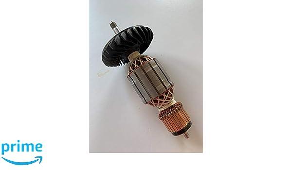 Anker Rotor Läufer für Hilti Winkelschleifer DEG 125-P Hilti DEG 125 P
