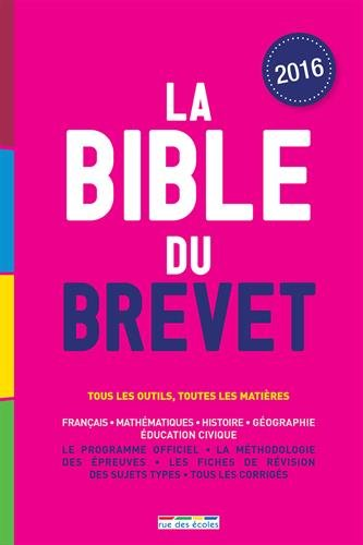 La Bible du brevet, édition 2016