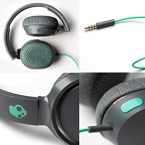 Skullcandy Riff S5PXY-L637 On-Ear Headphone with Mic (Gray/Speckle/Miami) Image 6