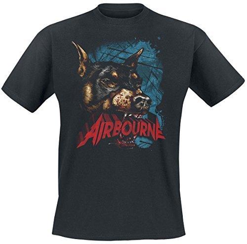 Airbourne Dog T-Shirt black