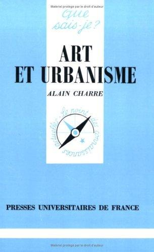 Art et urbanisme by Alain Charre (1996-04-01)