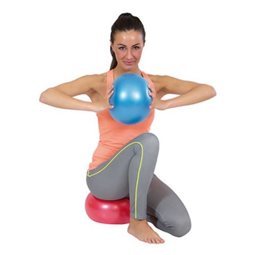 PhysioRoom.com Soft Gym Übungs Pilates Ball Blau -