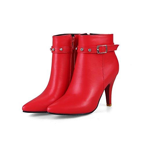 femme BalaMasa red Abl10327 Compensées Sandales qaazSvw4