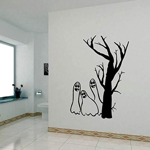 Wohnzimmer Esszimmer Schlafzimmer Hintergrunddekoration Halloween-Aufkleber Abnehmbare Selbstklebende Sicherheit Umweltfreundlich Leicht zu verschmieren 42,3X48Cm ()