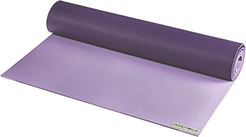 JADEYOGA Two Tone Yogamatte lila Einheitsgröße