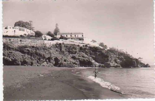Postal Antigua - Old Post Card : TORREMOLINOS - Hotel Santa Clara