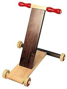 Maya Organic Wooden Baby Walker - Scootle (Brown)