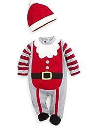 TBS - Ropa y disfraces de Navidad para bebés