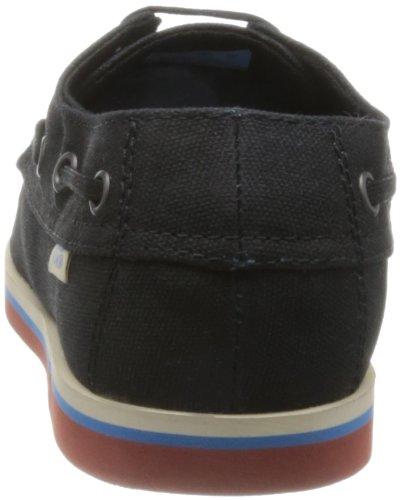 Vans Foghorn, Herren Skateboardschuhe waxed twill black/chutney