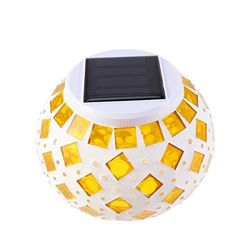 Uonlytech Lámpara alimentada energía Solar Lámpara