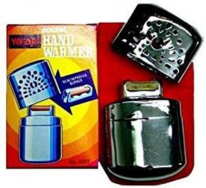 Scaldamani outdoor delux scalda mani tascabile in metallo