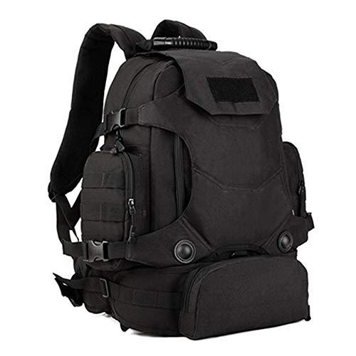 WXQQ SportLaptop Rucksack Business Rucksack für Arbeit Wandern Reisen Camping,für Herren und DamenBlack