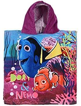 Disney Pixar Findet Nemo & Dori Velour Kapuzen Poncho