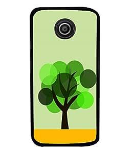 PrintVisa Animated Tree High Gloss Designer Back Case Cover for Motorola Moto E2 :: Motorola Moto E Dual SIM (2nd Gen) :: Motorola Moto E 2nd Gen 3G XT1506 :: Motorola Moto E 2nd Gen 4G XT1521