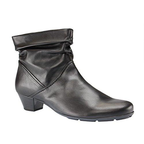 Gabor Shoes 35.637 Damen Kurzschaft Stiefel Schwarz