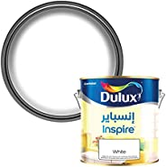 Dulux Inspire Interior Silk Long Lasting Colour Paint for Walls & Ceilings - White 1 L