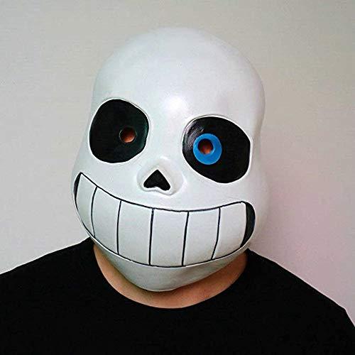 QHJ Halloween Kostüm Party Maske Latex Full Head Hood Masque Halloween Kostümzubehör für Erwachsene und Kinder Helloween Kostüm Party (E)