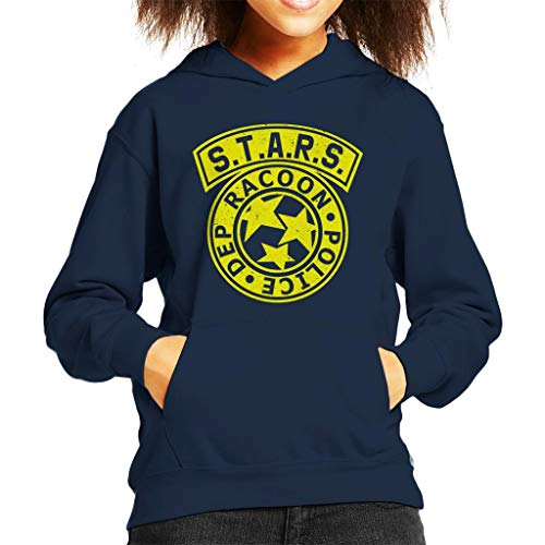 Cloud City 7 Resident Evil STARS Police Logo Kid's Hooded Sweatshirt