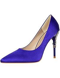 Amazon Para Pocos De Los Zapatos es Mujer Tacón q6nqp1aO