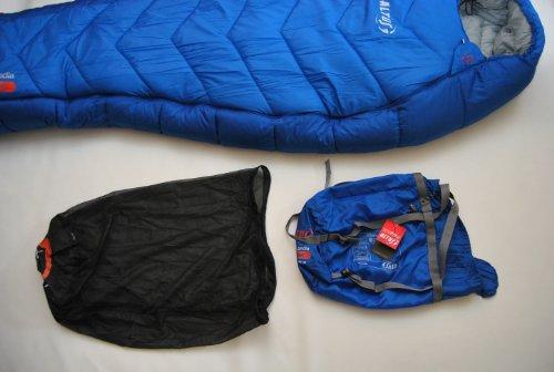 ALTUS Expeditionsschlafsack Mumienschlafsack Groenland Extremwerte geprüft ** bis – 30 Grad ** Schlafsack - 4