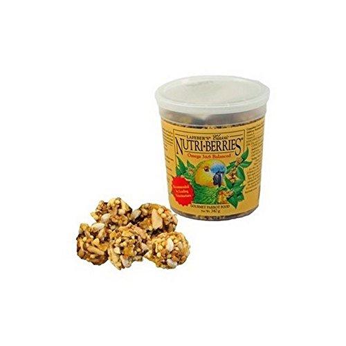 Lafeber Nutriberries Tropische Frucht Papageienfutter (300 G) (Packung mit 6)