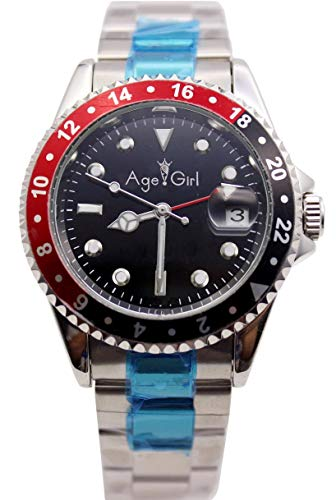 Automatic Stainless Luxury Silver Watch Zcczjbxs Mens Mechanical Rotatable Steel Blue Watches Dive Bezel Black Red Gent's E2DIH9