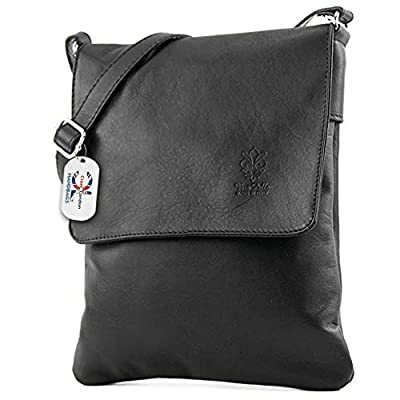 Craze London Women Mini Genuine Italian Soft Leather Verapelle Cross body Messenger Bag Shoulder Strap Hand Bag