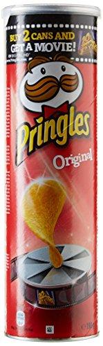 Pringles chips Original 190 g - Lot de 3