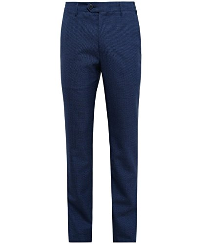 corneliani-uomo-pantaloni-in-lana-pied-de-poule-blu-52-regolari