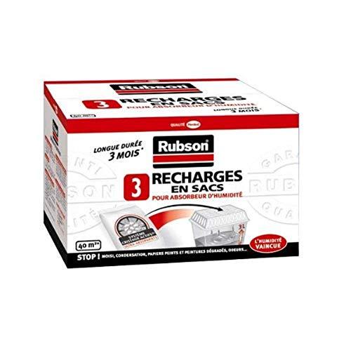 Rubson Recharges Classiques pour Absorbeur d'humidité- par 3